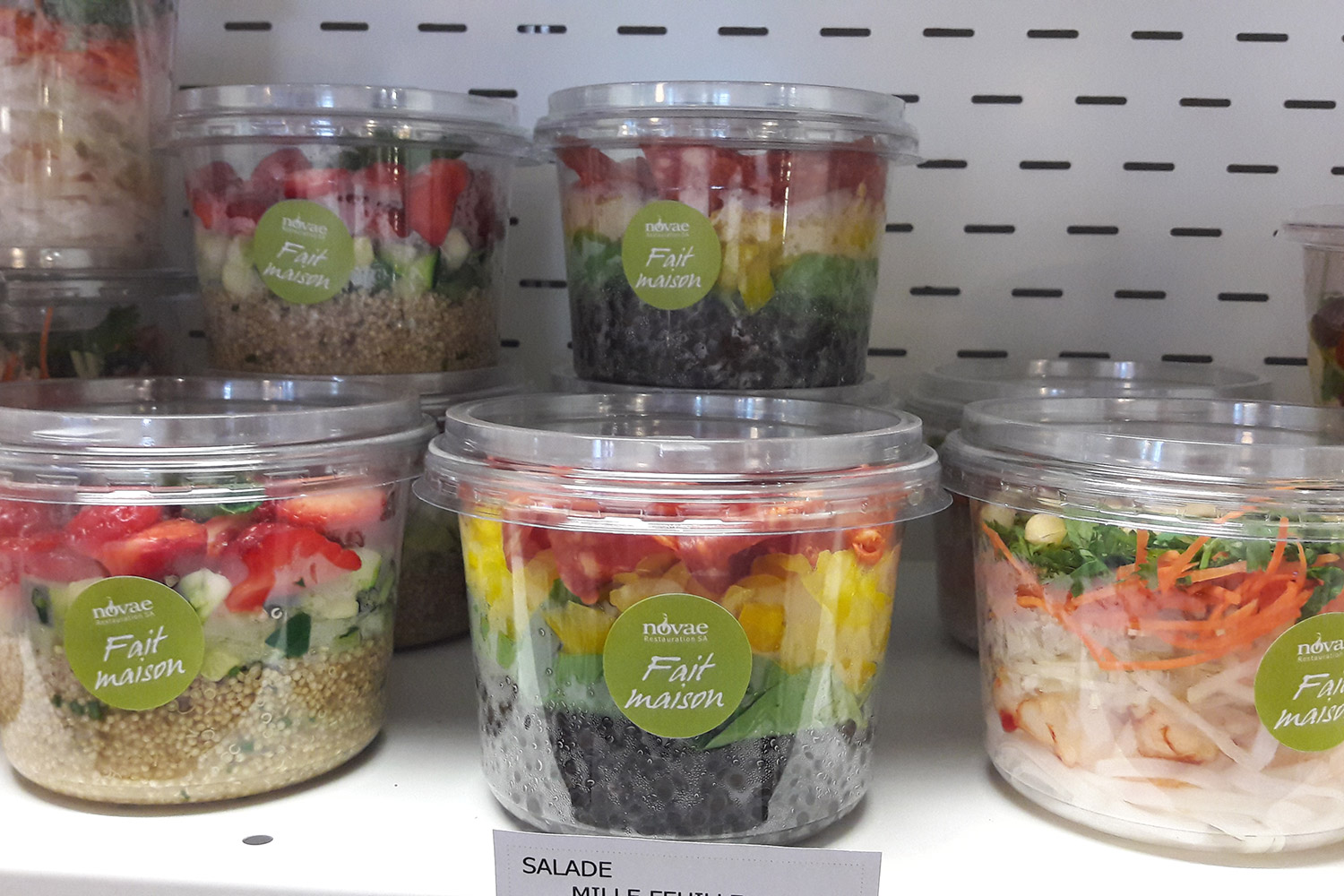 You can also get takeaway salads now!